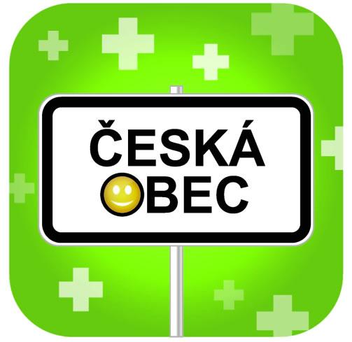 logo mobilní aplikace - Česká obec