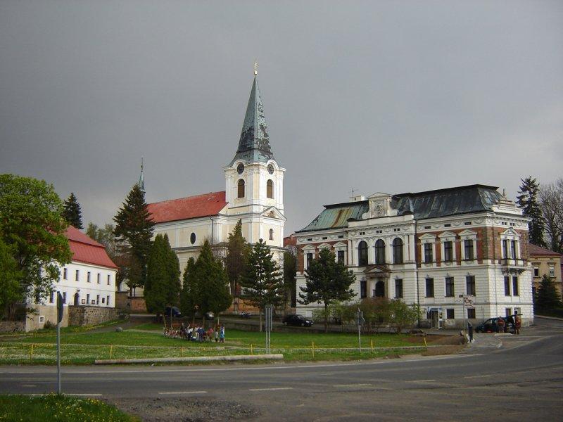 Jiříkov - kostel sv. Jiří