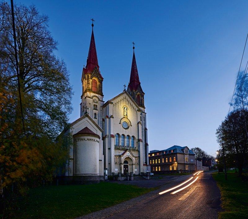 Filipov - bazilika minor Panny Marie Pomocnice křesťanů