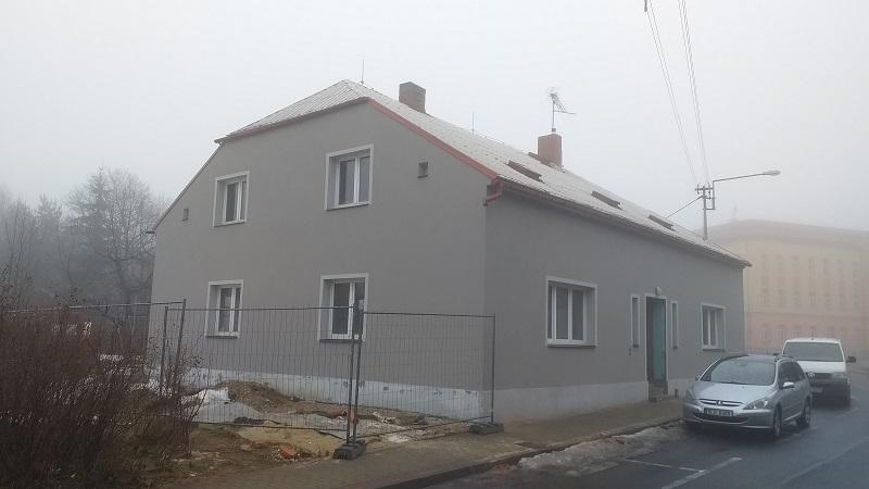 Stavební úpravy objektu č. p. 678 - sociální byty