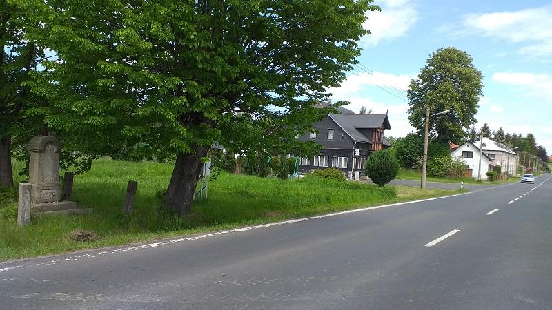 Cyklostezka na Rumburské ulici