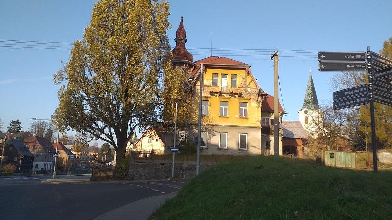 Rekonstrukce domu č. p. 461